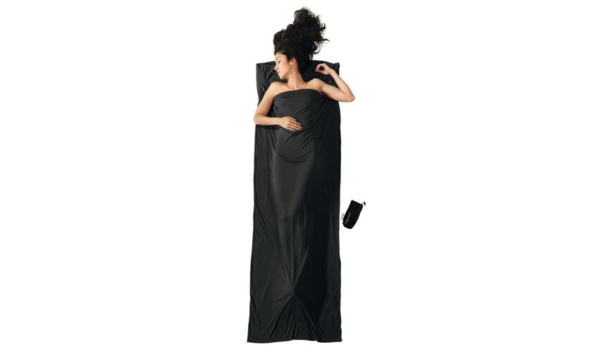 Cocoon TravelSheet inlet performer grijs/zwart